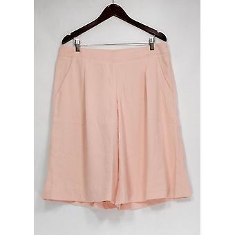 G.I.L.I. got it love it Petite Pants Capri Length w/ Pockets Pink A277134