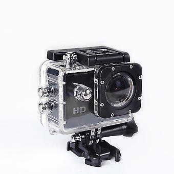 Actie onderwatercamera Ultra HD waterdichte sport camera groothoekcamera Kit zwart