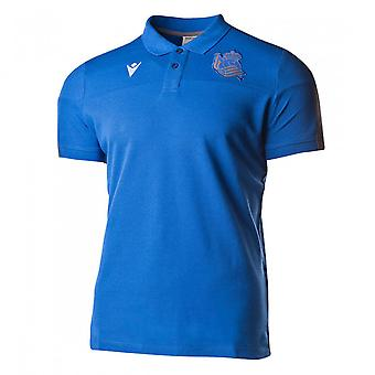 2019-2020 Real Sociedad Travel Polo Shirt (Blue)