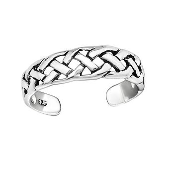 Chain - 925 Sterling Silver Toe Rings - W5659X