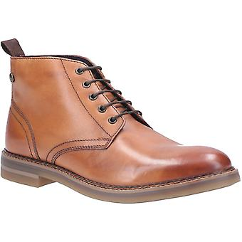 Base London Mens Raynor Burnished Lace Up Boot