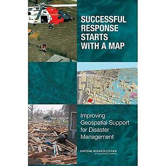 Successful Response Starts with a Map: Improving Geospatial Support for Disaster Management