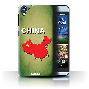 STUFF4 Case/Cover for HTC Desire 826/China/Chinese/Flag Nations