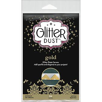 Glitter Dust Photo Corners 84 Pkg Gold Twc31 11