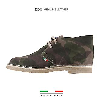 Made in Italia Lace up Green men's