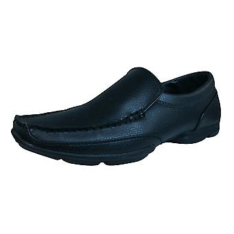 Dexter Conner Mens Slip On Shoes / Loafers - Black