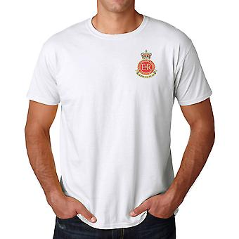 RMAS Royal Military Academy Sandhurst Embroidered Logo - Official British Army Ringspun T Shirt