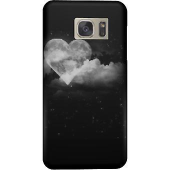 Tuer la couverture lune coeur pour Galaxy S6