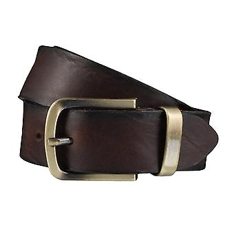 BERND GÖTZ belts men's belts leather belt Brown 3895