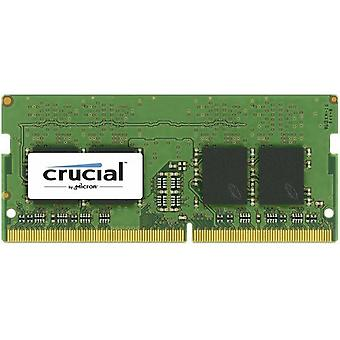 Afgørende 4Gb DDR4 2133 Mt / S Sodimm 260Pin Sr X8 Unbuffered