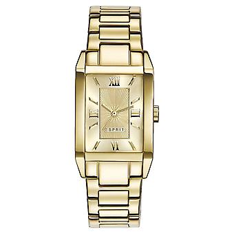 ESPRIT ladies watch bracelet watch Helena stainless steel gold ES000EO2012
