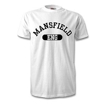 Mansfield England by T-Shirt
