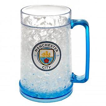Manchester City Plastic Freezer Tankard