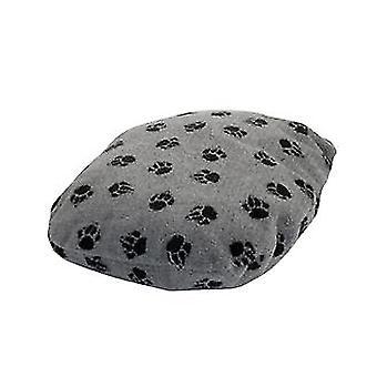 Fleece Paw Grey Fibre Bed Size 4 92x127cm