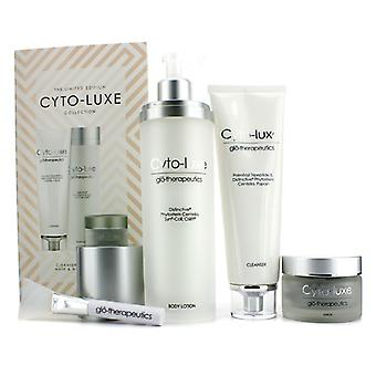 Glotherapeutics Cyto-Luxe Collection (Limited Edition): Body Lotion sæbe + maske + maske applikator 4stk