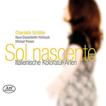 Jommelli / Schafer / Neue Dusseldorfer Hofmusik - Sol Nascente - italienske stykker Arias [SACD] USA import