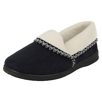 Ladies Sandpiper Warmlined House Slippers Ila