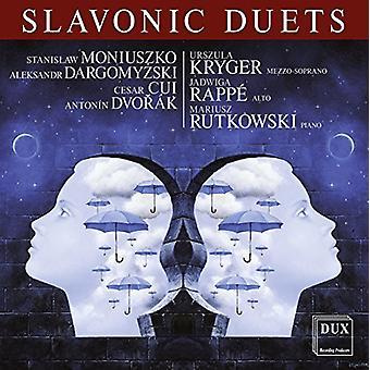 Moniuszko / Cui / Dvorak / Kryger / Rappe / Rutkow - Slavonic Duets [CD] USA import