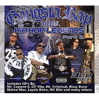 Hej præsenterer magt - Gangsta Rap opfylder Hip-Hop legender Pt. 2 [CD] USA import