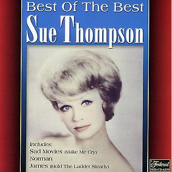 Sagsøge Thompson - bedste af det bedste [CD] USA import