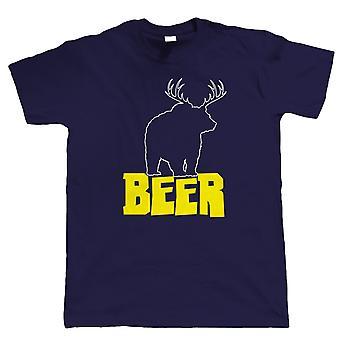Beer Bear, Mens Funny Drinking Tshirt