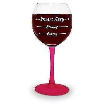 Smart wine glass assy glass joke Articles 414 ml