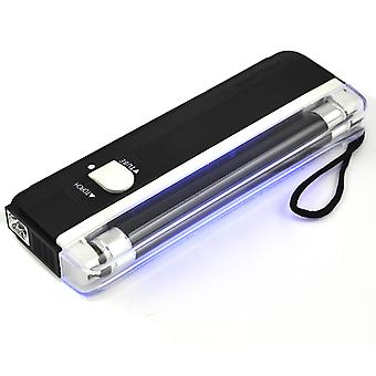 TRIXES Mini Portable UV Black Light Fake Forged Bank Note Money Checker