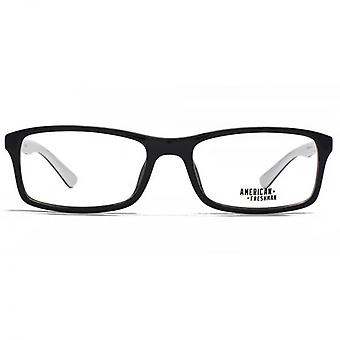 American Freshman Sam Classic Rectangle Glasses In Black