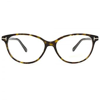 Tom Ford FT5421 occhiali In avana scuro