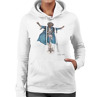Bootsy Collins gitaar vrouwen Hooded Sweatshirt