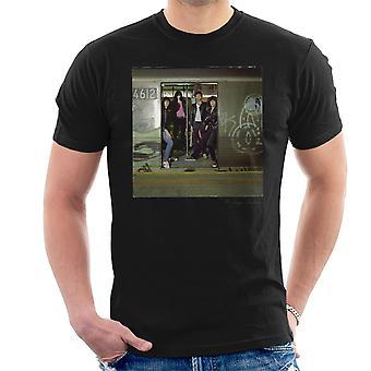 Ramones underjordiske jungelen Album menn t-skjorte