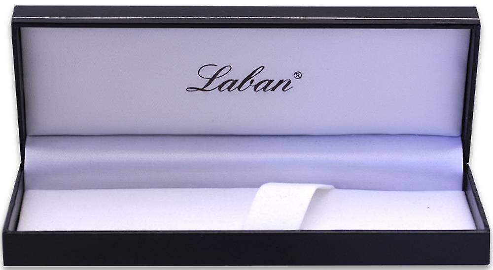 Laban African Wood and 925 Silver Ballpoint Pen