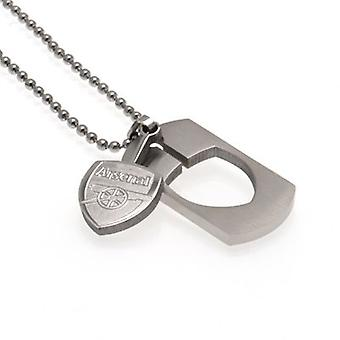 Arsenal Dog Tag & Chain CO
