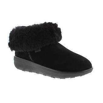 FitFlop Mukluk Shorty 2 stivali - tutto nero Suede Womens Boots