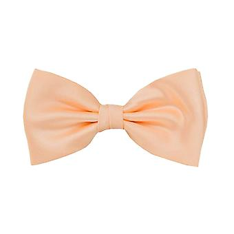 Frédéric Thomass fly loop bow tie tied salmon Orange polyester clasp