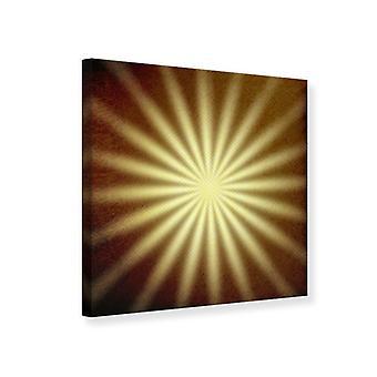 Canvas Print Abstract Sunbeams