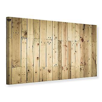 Lona impressão de painéis de madeira