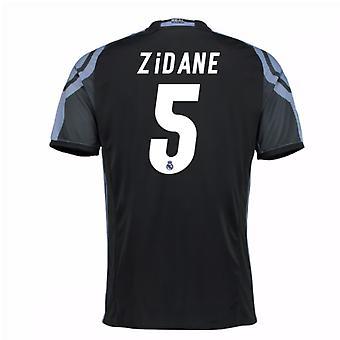 2016-17 real Madrid 3 ° maglia (Zidane 5) - bambini