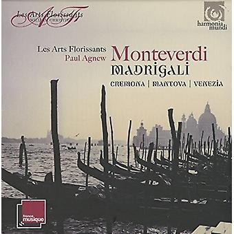 Les Arts Florissants - Monteverdi: Madrigali - Mantova Cremona Venezia [CD] USA import