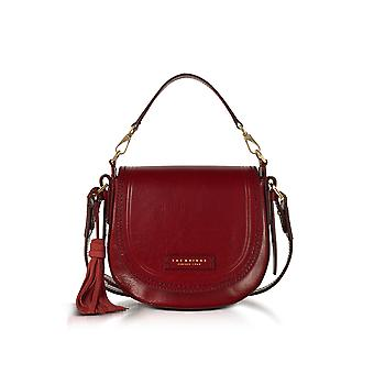 Tory Burch women's 041217012E red leather shoulder bag