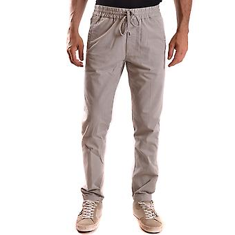 Woolrich men's MCBI314021O grey cotton joggers