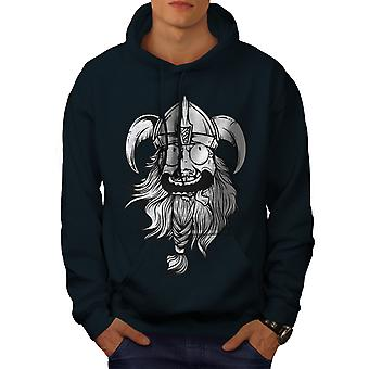 Crazy North Joke Men NavyHoodie | Wellcoda