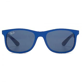 Ray-Ban Junior Wayfarer Sunglasses In Matte Blue