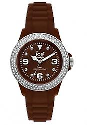 Ice-Watch Stone Sili Small Bruin Zilver (ST.NS.SS10)