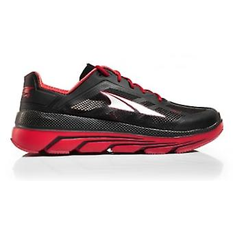 Duo Mens Zero Drop Road Running Shoes Red