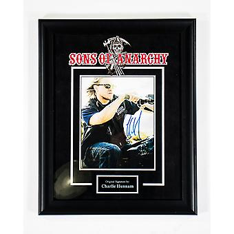Sons of Anarchy - Signed by Charlie Hunnam - Framed Artist Series
