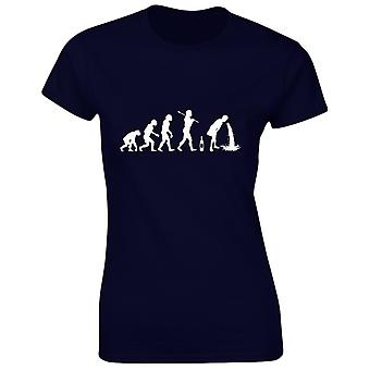Drunk Evo Evolution Alcohol Womens T-Shirt 8 Colours (8-20) by swagwear