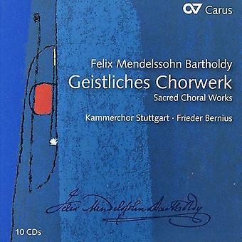 F el. Mendelssohn - Mendelssohn: Importación USA Geistliches Chorwerk [CD]