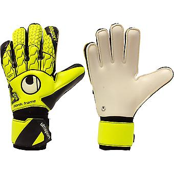 UHLSPORT SUPERSOFT BIONIK Goalkeeper Gloves Size