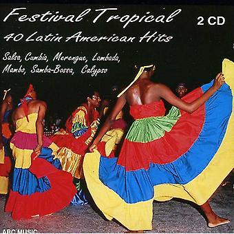 C-Rdenas/Vargas/Kessel/De Oliv - Festival tropische: 40 Latijnse ben [CD] USA importeren